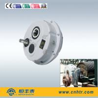Hollow Shaft Helical Gear Reducer Motor Reduction Gearbox With Belt Pulley Manufactures