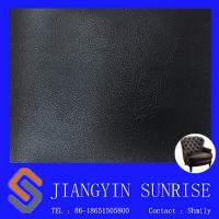 Custom Width 54/55 Sofa Synthetic Leather / Thickness 0.85mm Pvc Artificial Leather Manufactures