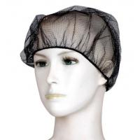 China 100% Nylon Cleanroom Consumables Disposable Mesh Cap Hair Net Cap For Food Service on sale