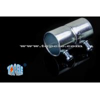 Steel EMT Conduit Fittings , EMT Pipe Fittings Set Screw Coupling Manufactures