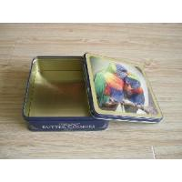 China Square Cookies Tin Box (JYML12071901) on sale