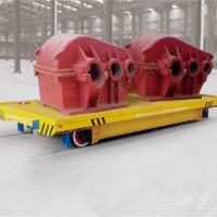 25T conductor rail workshop use powered electric vehicle on rail Manufactures