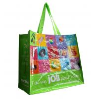 Washable PP Woven shining coated 140gsm Shopping Bags for brand promotion Manufactures