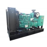 Safety Frame Low Noise Diesel Generator Set , Diesel Engine Generator Set With Original Stamford Alternator Manufactures
