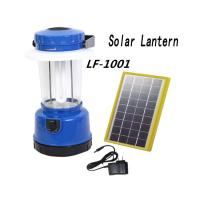 China Portable Solar Lantern Lights Solar LED  Outdoor Camping Lantern With FM Radio and USB on sale