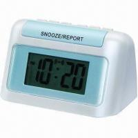China Speaking Alarm, Blind Talking and Cartoon Talking Clock, Supports 12 to 24 Time Mode Shifts on sale