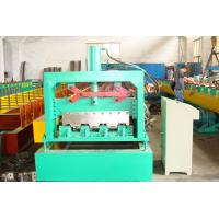 PLC Metal Deck Sheet Forming Machine For Forming Galvanized Sheet Manufactures