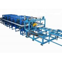 China 0.3-0.8 Mm Galvanized Steel PU Sandwich Panel Production Line Fully Automatic on sale