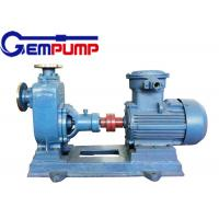 ZXL Straight horizontal self-priming centrifugal pump for Municipal Construction fire control Manufactures