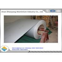 PVDF Color Coated Aluminum Coil / Aluminium Flat Sheet 20 Years Quality Alloy 1100 Manufactures