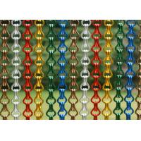 China 3mm Rod Pitch Decorative Wire Mesh , Decorative Chain Curtains Multifunctional on sale