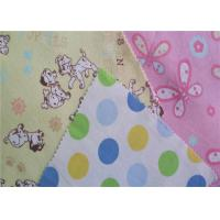China 80 Polyester 20 Cotton Flannel Cloth Good Elasticity Double Sided Flannelette on sale