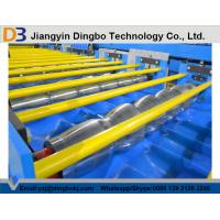 Trapezoidal Roof Steel Tile Forming Machine With Chain Transmission Manufactures