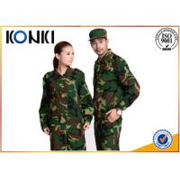 Long Sleeve Forest Camouflage Military Uniforms BDU / ACU Army Battle Dress Uniform Manufactures
