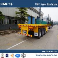 multi axle 40 ton flatbed semi trailer for sale - CIMC Vehicle Manufactures