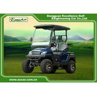 Engineering Plastic Body Electric Golf Carts , Max.speed 25km/h Manufactures