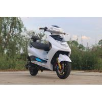 Steel Electric Moped Bike 1500W Brushless DC Motor With 72V 20Ah Lead - Acid Battery Manufactures