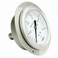 Manometer Liquid Filled Pressure Gauge Manufactures