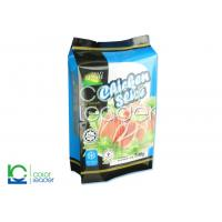 Side Gusset Ziplock Frozen Food Packaging Bags With Oxygen Barrier Manufactures