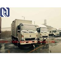 China Flatbed Truck Red Light Duty Commercial Truck Air Brake 5480X2000X2450mm on sale