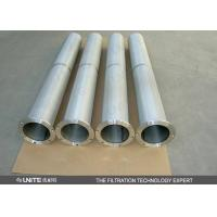 Stainless steel Gas liquid separator Cartridge Filter Element for solid / liquid removing Manufactures