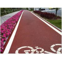 China high quality new road material Colored asphalt mixture color asphalt road Manufactures