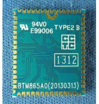 Bluetooth class 2 CSR8670 Based Multi-media aptX module support touch sensor--
