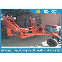 5T Multi function Full Cable Drum Trailer Other Tools With Water Cooled Diesel Engine Manufactures