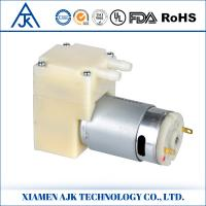 China High pressure diaphragm pump mini water pump AJK-B4001 on sale