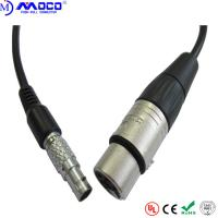 2-26 Pins Custom Cable Assemblies Straight Male Connectors To Xlr Audio Cable Manufactures