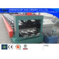 1.0-2.0mm Thickness GI Steel Metal Deck Roll Forming Machine 15kw With Electric Control Cabinet Manufactures