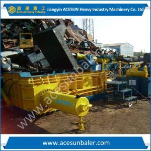 China Waste Metal Baler 250Ton Turn out type Manufactures