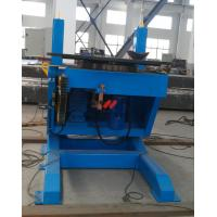 2000kg Height Adjustable Pipe Welding Positioners Manual With Fixed Tilting Speed Manufactures