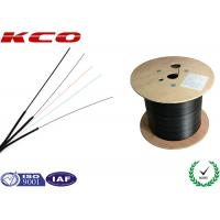 China 2 Core Outdoor Optical Fiber Cable Fiber To The Home with PVC Cover on sale