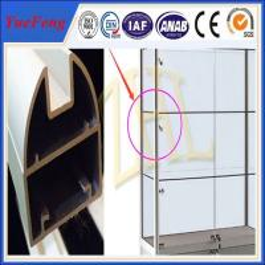 New arrival! Aluminium alloy display stand, Aluminium profile for display Manufactures
