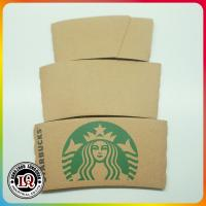 New Customizd Logo Hot Paper Cup Sleeve