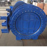 Stainless Steel Eccentric Butterfly Valve , Self Purification Eccentric Ball Butterfly Valve Manufactures
