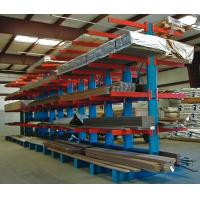 China 6500 mm Height Heavy Duty Storage Racks  / Cantilever Steel Racking For Timber on sale