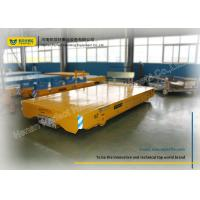 China Railroad Wheelsets installed On Transfer Cart Powered By Dragging Cable on sale