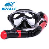 Dry Top Diving Snorkel Set , Swim Mask And Snorkel Set For Water Sports Equipment Manufactures