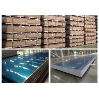 3004 H18 H14 Aluminum Sheet With Blue Cover Film 1mm - 3mm Typical Thickness Manufactures