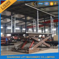 China Mechanical Parking Car Storage Lifts for Stacking Car Park Systems Customized on sale