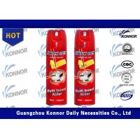 Fly Insecticide Spray / Crawling Insect Killer Spray Aerosol Jasmine Fragrance Manufactures