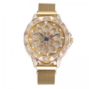 Classic women watch custom watch dial logo rotating watch Manufactures