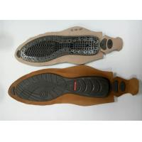 Customized Plastic Injection PVC Shoe Sole Wear Resisting With Welt Stitch Manufactures