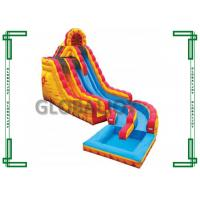 Buy cheap Gaint Commercial Grade Inflatable Water Slide With Pool For Adult  inflatable water slide from wholesalers