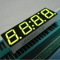 Red Yellow 7 Segment LED Display 4 Digit For Timer Clock 500MM Manufactures