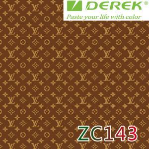ZC143 Bubble Free Digital Printing Doodle Film / Graffiti Sticker Bomb for Car Wrapping