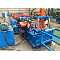 4 Mm Thickness Purlin Rolling Machine Servo Motor Punching High Performance Manufactures