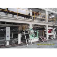 Three Dryer A4 Paper Production Line For Making White Carbonless Copy Paper Manufactures